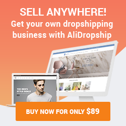 Sell anywhere with AliDropship!