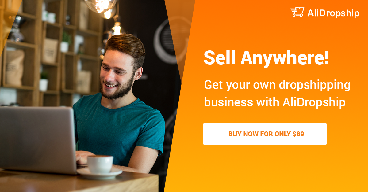 Sell anywhere with AliDropship